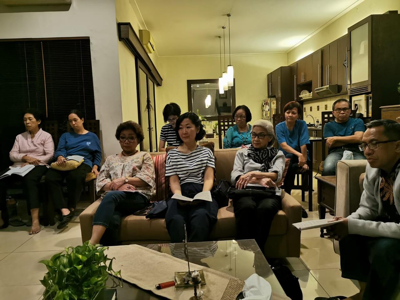 Pertemuan II Masa Prapaskah - Lingkungan Theresia