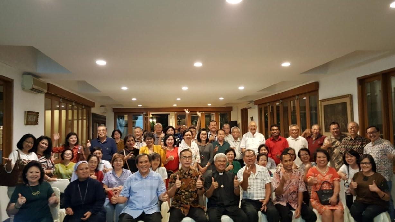 Kunjungan Pastoral Romo Ratno ke Wilayah IX dan XI