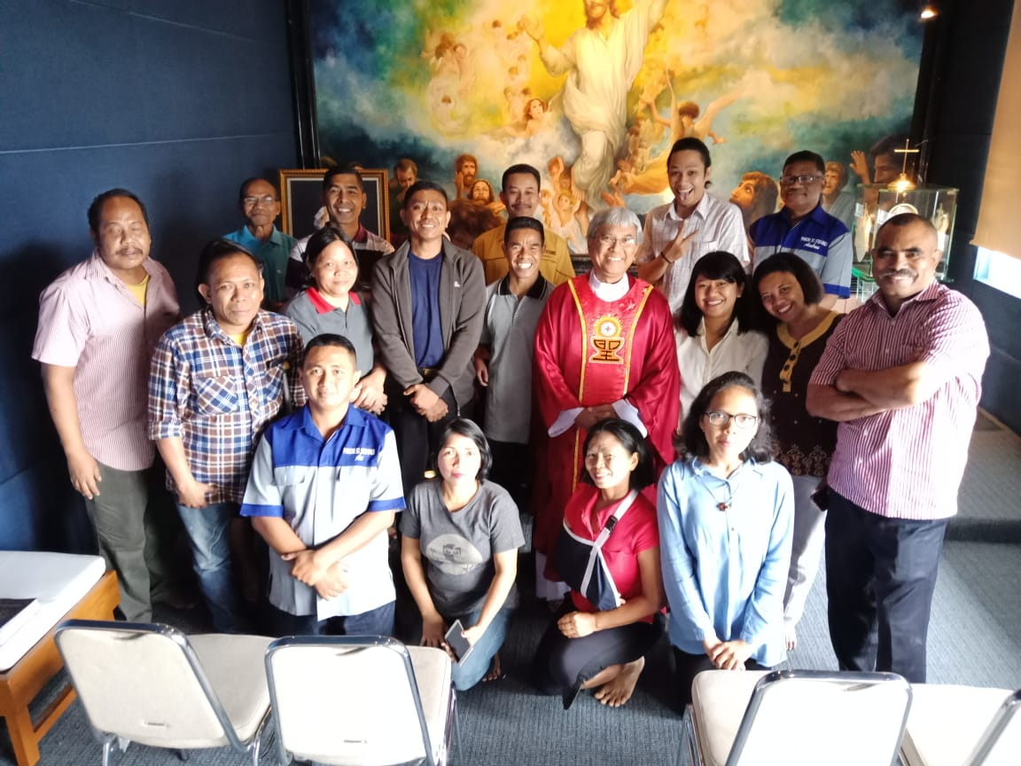 Misa Karyawan paroki Cilandak - (Ada 4 foto)