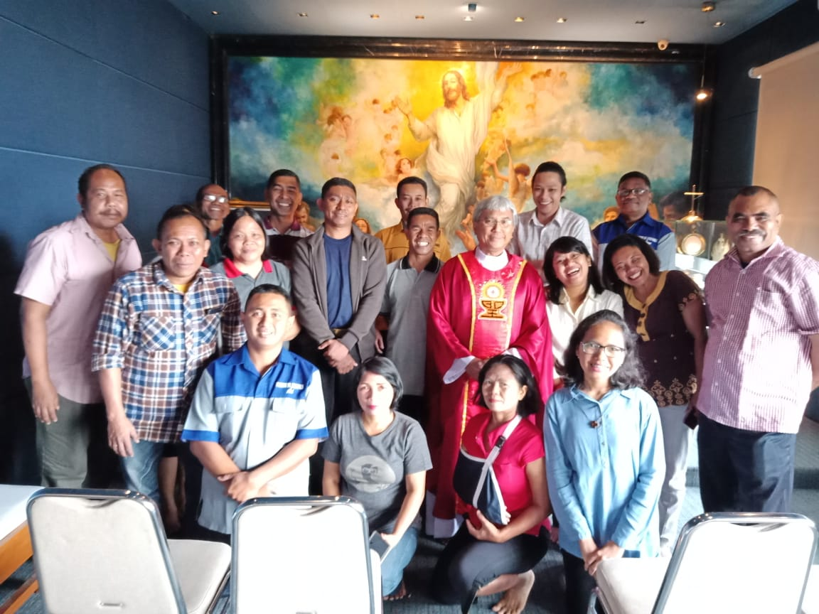 Misa Karyawan paroki Cilandak
