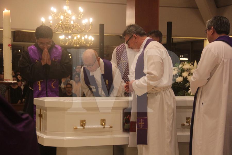 Misa Requiem Meninggalnya Pastor Martin van Ooij, SCJ